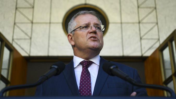 Australian Prime Minister Scott Morrison. (Photo / AAP)