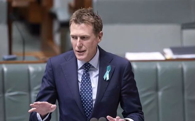Christian Porter during Question Time last month. (Photo / NCA NewsWire)