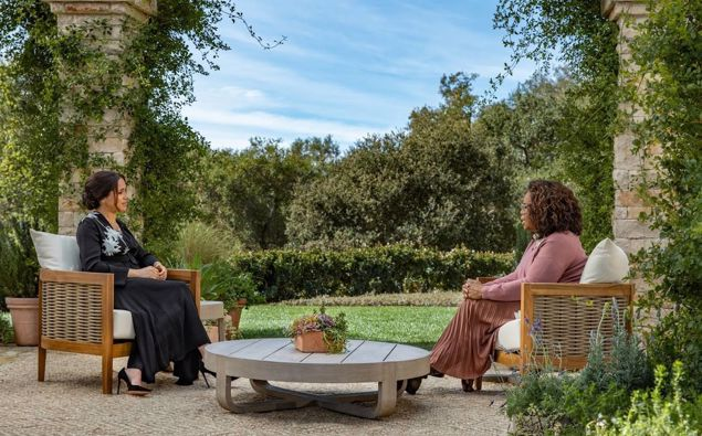 Oprah is a close friend of the couple. Photo / CBS and Three