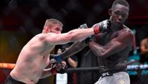 Israel Adesanya suffers first loss of MMA career against Jan Blachowicz