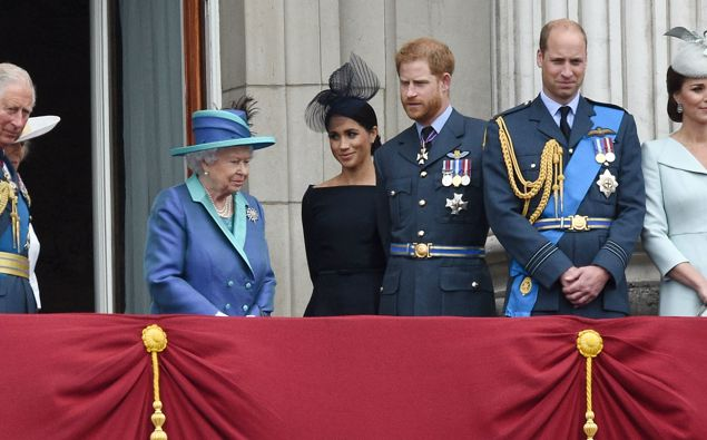 Harry and Meghan spoke out against the rest of the royals. (Photo / Getty)