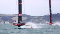 America's Cup: Team NZ speed questioned after Luna Rossa win second race