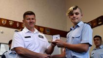 14-year-old Christchurch Cadet awarded for helping to save stabbing victim's life