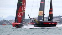 Burling's heart-stopping moment in Team NZ's crushing Cup win