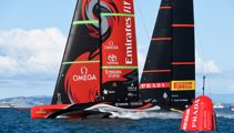 America's Cup: Team NZ win race six to level match 3-3