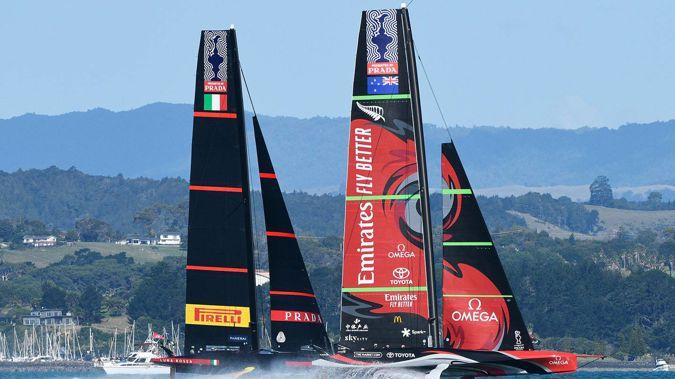 Emirates Team New Zealand v Luna Rossa Prada Pirelli. Photo / Photosport.co.nz