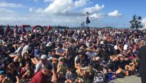 Viaduct chaos: America's Cup fans told to 'stay away' with village 'so full'