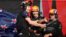 'Absolutely blown away': Burling reacts to winning America's Cup
