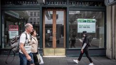 Vacant retail premises Queen Street, Auckland. 16 March 2021 New Zealand Herald photograph by Michael Craig