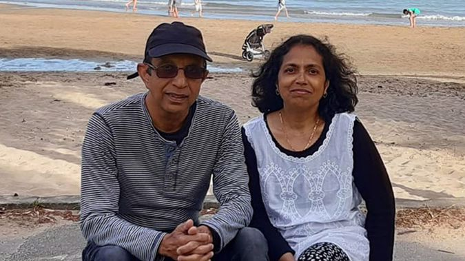 Herman Bangera and his wife Elizabeth who used to work at the University of Auckland. (Photo / Supplied)