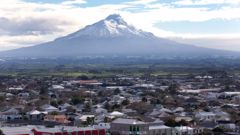 """The imposing, 2500m-high Mt Taranaki is considered to be in a """"quiet period"""" - its last eruption occurred in 1790. (Photo / Mark Mitchell)"""