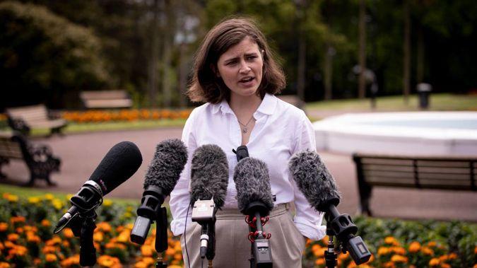 Green MP Chloe Swarbrick. (Photo / NZ Herald)