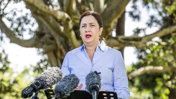 Queensland Premier Annastacia Palaszczuk has provided a coronavirus update. (Photo / News Corp Australia)