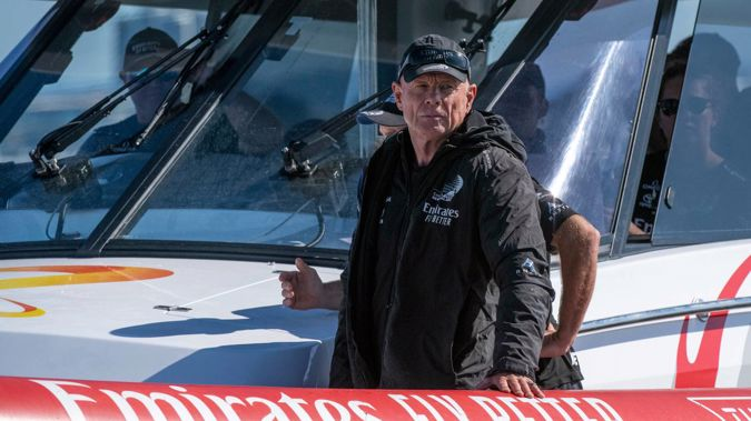 There are many options on the table for CEO Grant Dalton and Team New Zealand for the next America's Cup regatta. Photo / Photosport