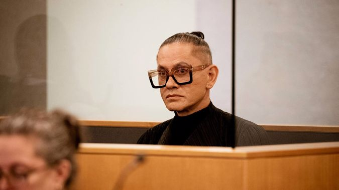 Mika X, pictured at his sentencing this morning in the High Court. Photo / David White, pool