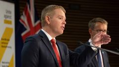 Covid-19 Minister Chris Hipkins. (Photo / NZ Herald)
