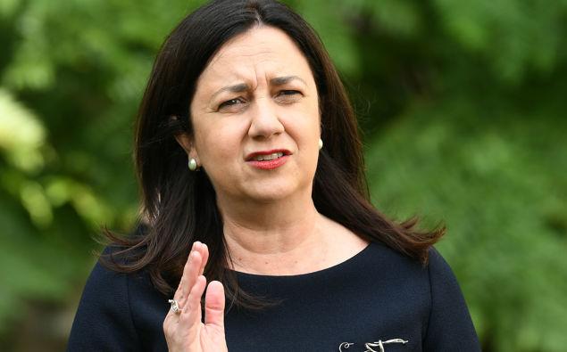 Queensland Premier Annastacia Palaszczuk. Photo / AAP
