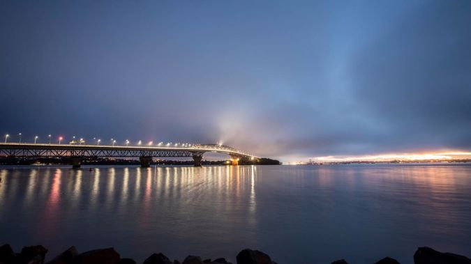A woman has died in a boating incident in Auckland's Waitematā Harbour tonight. Photo / Michael Craig
