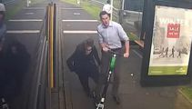Watch: CCTV footage shows moment bus passenger hit by Lime scooter