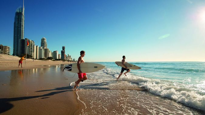 Qantas is adding flights to the Gold Coast from Auckland. Photo / Supplied