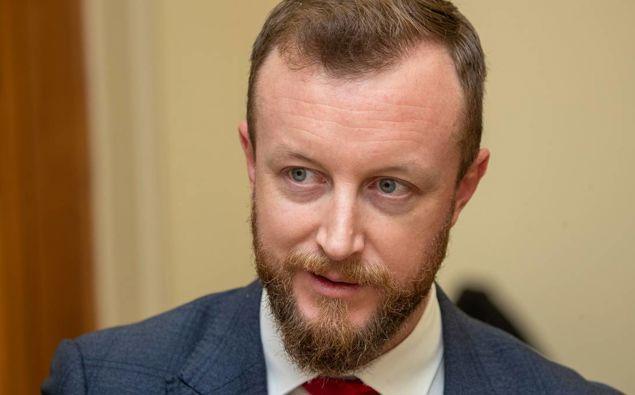 Labour MP Kieran McAnulty. (Photo / NZ Herald)