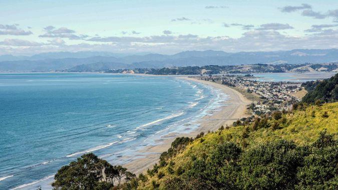 Ōhōpe Beach in the Eastern Bay of Plenty. Photo / File