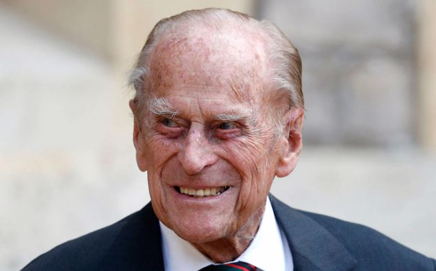 Britain's Prince Philip arrives for a ceremony for the transfer of the Colonel-in-Chief of the Rifles from himself to Camilla last year. Photo / AP