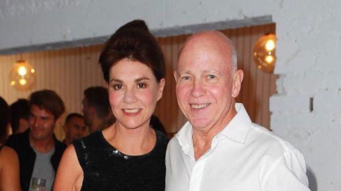 Pauline Hanna and husband, Philip Polkinghorne. Photo / Supplied