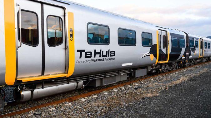 The Te Huia Hamilton to Auckland train. (Photo / Supplied)