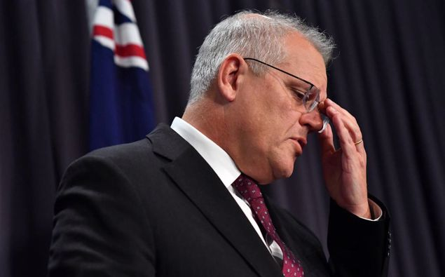 Australian PM Scott Morrison. (Photo / Getty)