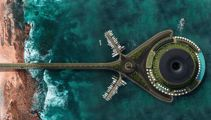 Floating, rotating hotel concept creates its own electricity