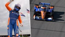 Scott Dixon talks with D'Arcy Waldegrave ahead of the IndyCars return