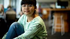 Child genius Vicky Ngo Ngoc will not be eligible for a post-study work visa when she graduates from AUT University because of her age. Photo / Dean Purcell