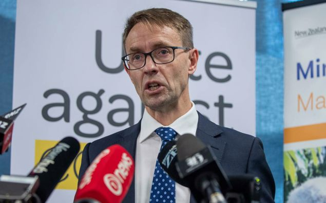 Ashley Bloomfield is the Director-General of Health. (Photo / NZ Herald)