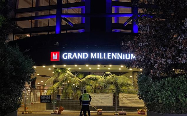 The Grand Millennium is one of the two hotels that is pausing new arrivals. (Photo / NZ Herald)