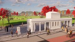 An artist's impression of what the site will look like. Photo / Supplied
