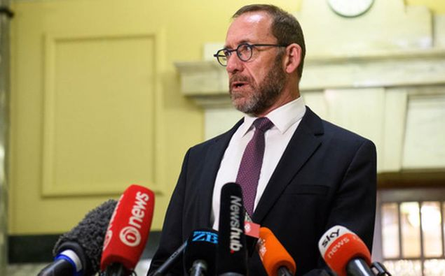 Justice Minister Andrew Little. (Photo / NZ Herald)