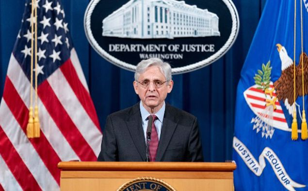 Attorney General Merrick Garland speaks about a jury's verdict in the case against former Minneapolis Police Officer Derek Chauvin in the death of George Floyd. (Photo / AP)