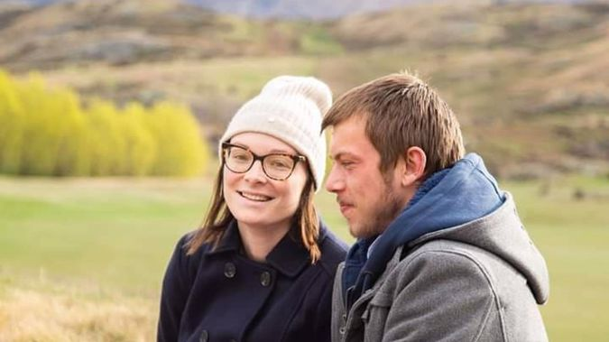 Gemma Malins and her husband Brandon. Malins was misdiagnosed when she had an aggressive melanoma and now needs more treatment costing tens of thousands of dollars. Photo / Supplied
