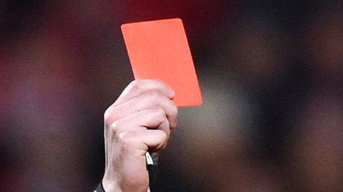 Two players were red carded during a football match in Gisborne on Saturday. (Photo / Doug Sherring)