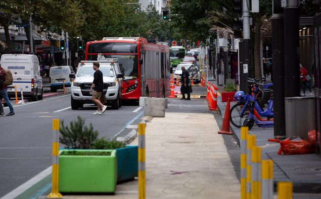What has already happened to Queen St is nothing compared to what is planned next, says Heart of the City chief executive Viv Beck. (Photo / Sylvie Whinray)