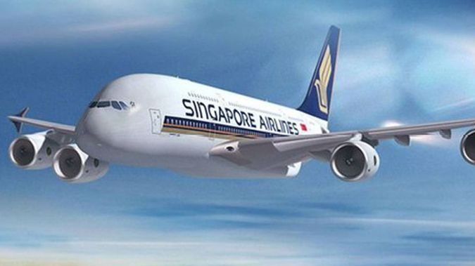 The passengers arrived on a Singapore Airlines flight into Auckland International Airport on Tuesday. (Photo / NZ Herald)