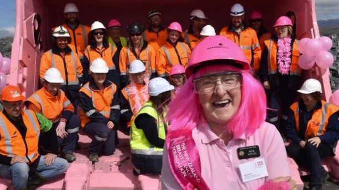 Ada Birtles, 73, fronted the Palmerston Lions Club's 2019 Pink Ribbon Appeal just a year before she was ousted from the group. (Photo / ODT)