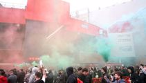 Protests force postponement of Man United-Liverpool match