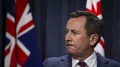 Western Australia premier Mark McGowan. (Photo / Getty)