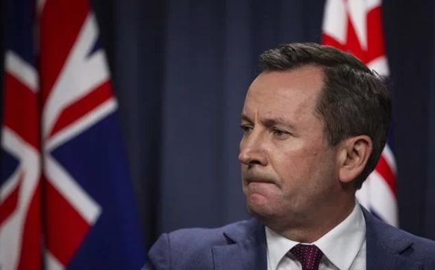 Western Australia premier Mark McGowan. (Photo / Getty)