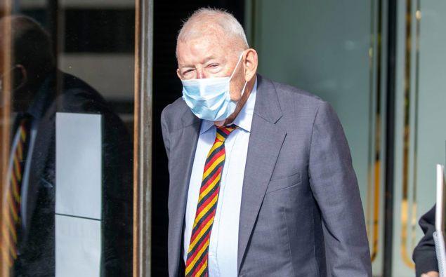 Sir Ron Brierley. (Photo / NZ Herald)