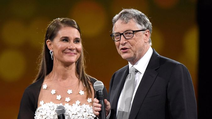 Melinda Gates and Bill Gates have announced their split online. (Photo / Getty)