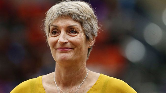 Margaret Forsyth during her time as coach of the Waikato-Bay of Plenty Magic. (Photo / Photosport)