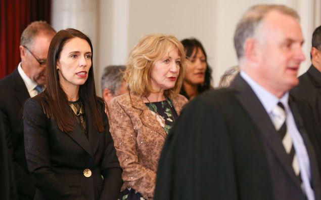Prime Minister Jacinda Ardern and Trevor Mallard. (Photo / Getty)